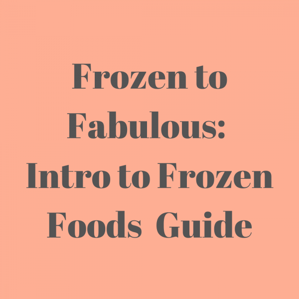 Introduction to Frozen Foods Guide